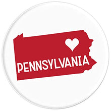 Load image into Gallery viewer, Amazon.com: Commonwealth States in the Union Series (Pennsylvania) - PopSockets Grip and Stand for Phones and Tablets: Cell Phones & Accessories - NJExpat