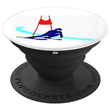 Amazon.com: Downhill Skiing - PopSockets Grip and Stand for Phones and Tablets: Cell Phones & Accessories - NJExpat