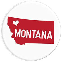 Load image into Gallery viewer, Amazon.com: Commonwealth States in the Union Series (Montana) - PopSockets Grip and Stand for Phones and Tablets: Cell Phones & Accessories - NJExpat