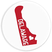 Load image into Gallery viewer, Amazon.com: Commonwealth States in the Union Series (Delaware) - PopSockets Grip and Stand for Phones and Tablets: Cell Phones & Accessories - NJExpat