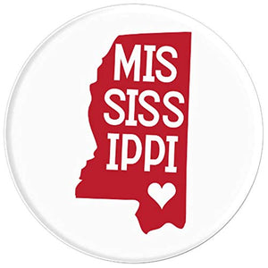 Amazon.com: Commonwealth States in the Union Series (Mississippi) - PopSockets Grip and Stand for Phones and Tablets: Cell Phones & Accessories - NJExpat