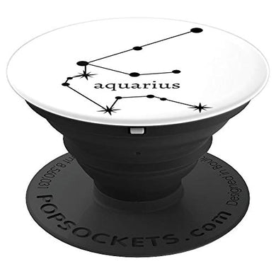 Amazon.com: Astrology Zodiac Calendar Series (Aquarius) - PopSockets Grip and Stand for Phones and Tablets: Cell Phones & Accessories