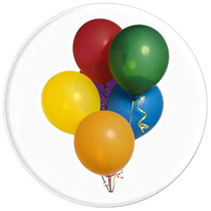 Amazon.com: Bunch of Multicolored Balloons for Celebrations - PopSockets Grip and Stand for Phones and Tablets: Cell Phones & Accessories - NJExpat