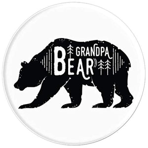 Amazon.com: Bear Series - Grandpa - PopSockets Grip and Stand for Phones and Tablets: Cell Phones & Accessories - NJExpat