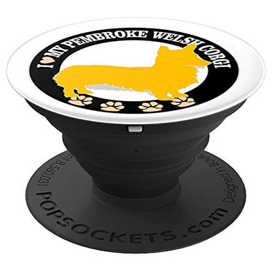 Amazon.com: I Heart Love My Pembroke Welsh Corgi - PopSockets Grip and Stand for Phones and Tablets: Cell Phones & Accessories - NJExpat