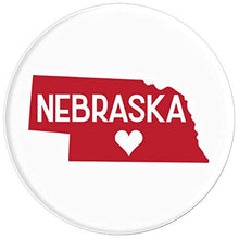 Load image into Gallery viewer, Amazon.com: Commonwealth States in the Union Series (Nebraska) - PopSockets Grip and Stand for Phones and Tablets: Cell Phones & Accessories - NJExpat