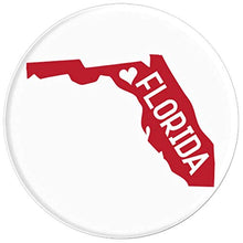 Load image into Gallery viewer, Amazon.com: Commonwealth States in the Union Series (Florida) - PopSockets Grip and Stand for Phones and Tablets: Cell Phones & Accessories - NJExpat