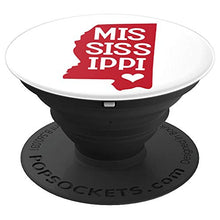 Load image into Gallery viewer, Amazon.com: Commonwealth States in the Union Series (Mississippi) - PopSockets Grip and Stand for Phones and Tablets: Cell Phones & Accessories - NJExpat