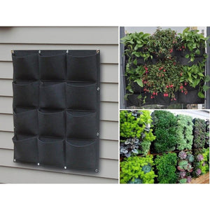 12 Pocket Outdoor Vertical Living Wall Planter, Free shipping - NJExpat