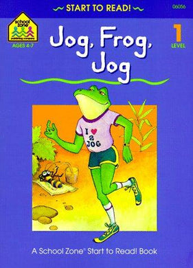 Jog, Frog, Jog - level 1 (Start to Read! Library Edition Series) - NJExpat