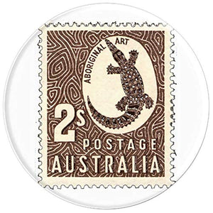 Amazon.com: Crocodile of Australia Stamp Design - PopSockets Grip and Stand for Phones and Tablets: Cell Phones & Accessories - NJExpat
