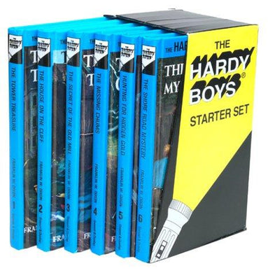 Hardy Boys Starter Set (The Tower Treasure / The House on the Cliff / The Secret of the Old Mill / The Missing Chums / Hunting for Hidden Gold / The Shore Road Mystery) - NJExpat