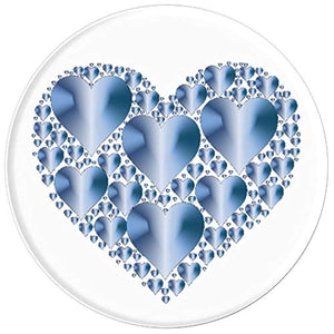 Amazon.com: Baby Blue Hearts Pop Socket, feel the love all the time. - PopSockets Grip and Stand for Phones and Tablets: Cell Phones & Accessories - NJExpat