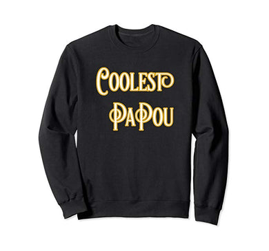 Amazon.com: Coolest Papou T-Shirt Coolest Pa Pou Sweatshirt: Clothing - NJExpat