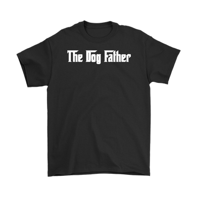 The Dog Father T-Shirt Gift for Animal Lovers Pet owners