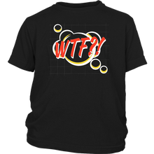 Load image into Gallery viewer, WTF! Cartoon Comic T-shirt Gift Tee
