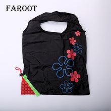 Load image into Gallery viewer, New Eco Large Nylon Reusable Foldable Handy Shopping Bag Tote