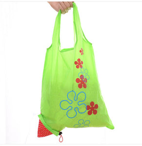 New Eco Large Nylon Reusable Foldable Handy Shopping Bag Tote - NJExpat