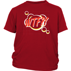 WTF! Cartoon Comic T-shirt Gift Tee