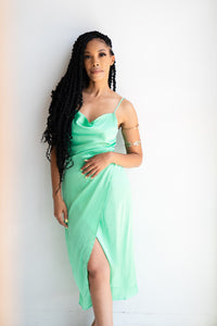 Breonna Satin Dress