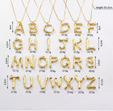 Oversize Alphabet Necklace
