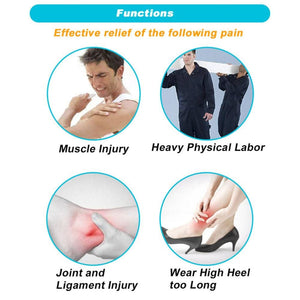 Medical Pain Relief Patches (20 Pieces 2 Hot Bags)