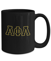 Classic Alpha Coffee Mug Black