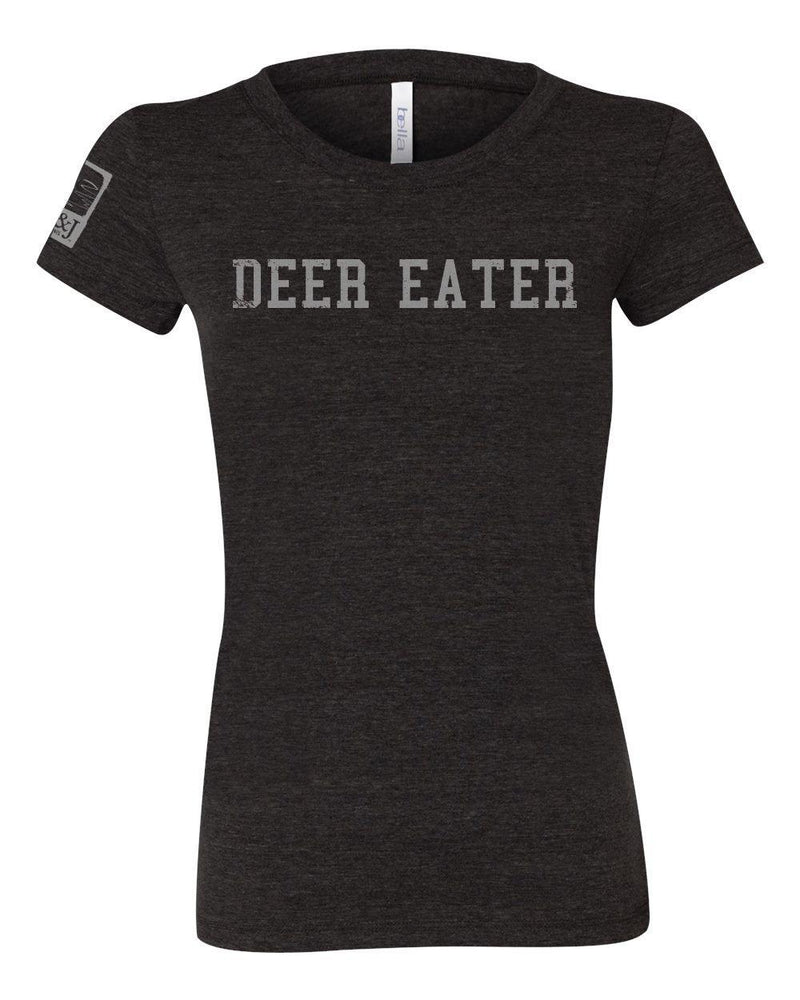 Women's Cut Charcoal Deer Eater Shirt