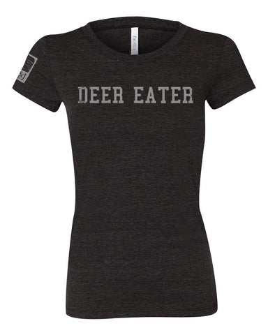 Women's Cut Emerald Deer Eater Shirt