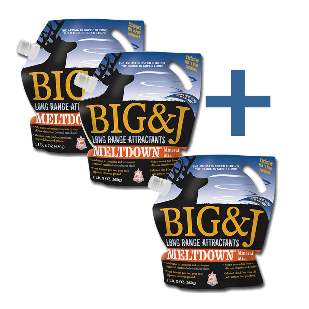 Buy 2 get 1 FREE Meltdown™ Mineral Bundle