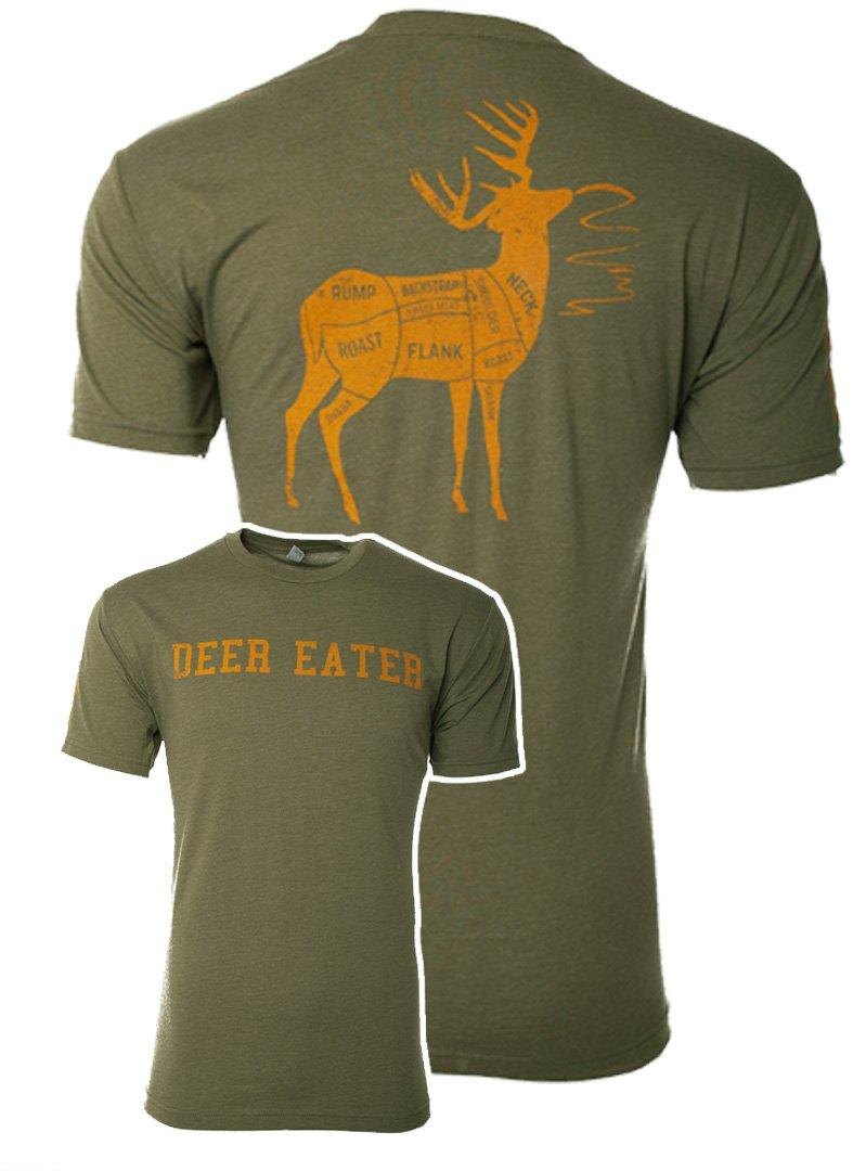 Military Green Deer Eater Shirt