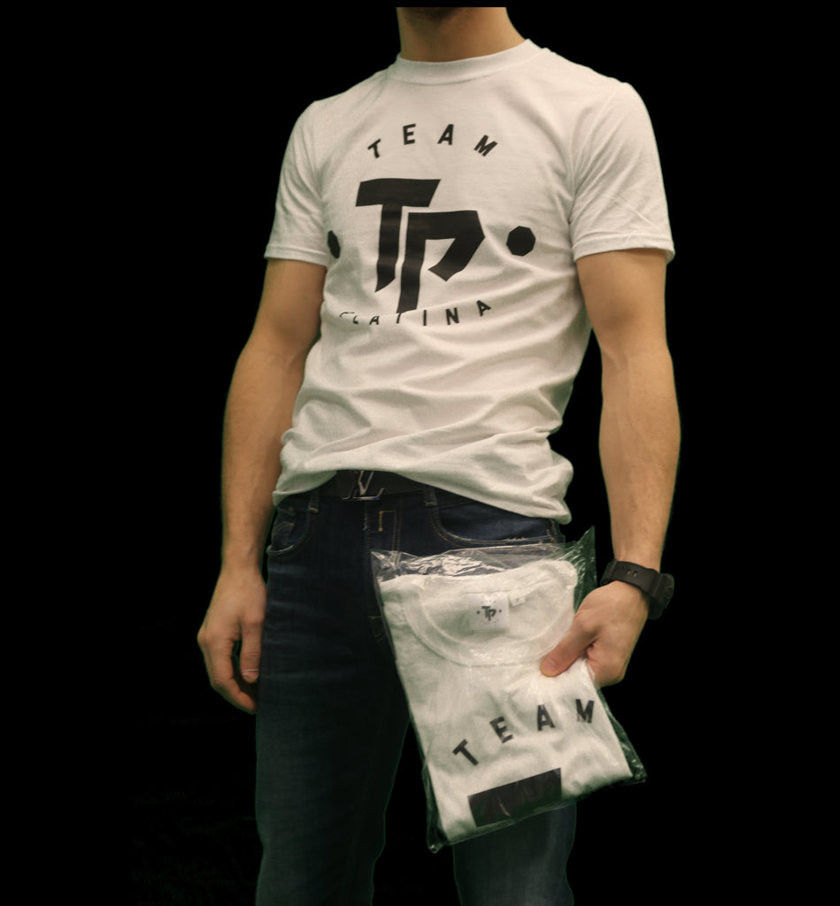 | TP | T-Shirt Text Logo Original Unisex