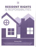 HF-160   Resident Rights and Responsibilities Brochure