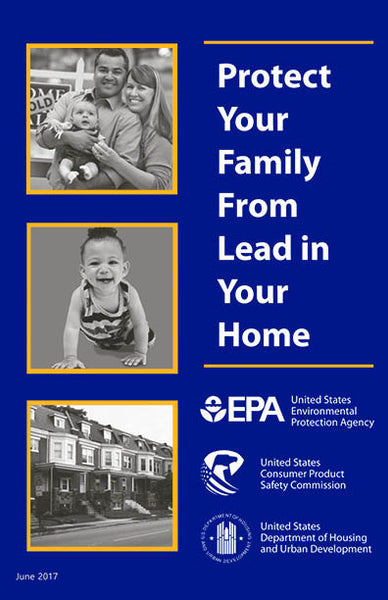 HUD-1400 Protect Your Family From Lead in Your Home