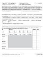 HUD-52517  Request for Tenancy Approval