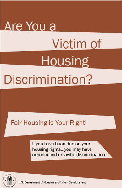 HUD-903.1    Are You A Victim of Housing Discrimination?