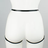 Slim Strapped Brief Harness