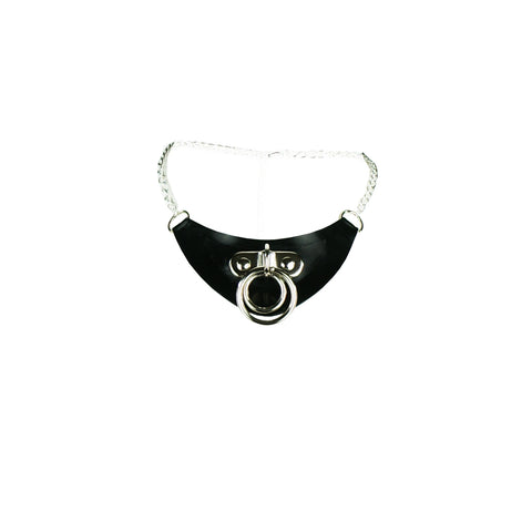 Dani Latex O-Ring Necklace