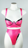Lightening Bolt Latex Bra
