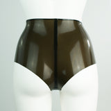 Panelled High Waisted Cheeky Briefs