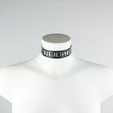 Custom Text Collar
