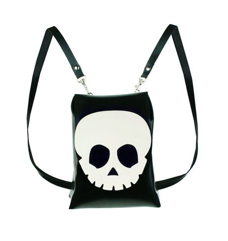 Latex Skull Mini Backpack