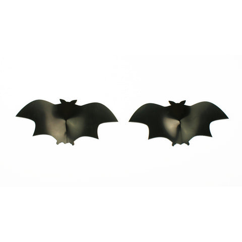 Goth Bat Shaped Latex Nipple Pasties