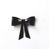 D-Ring Bow Brooch