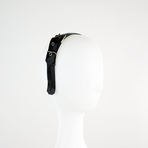 Latex Buckle Alice Band