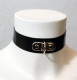 Latex D-Ring collar