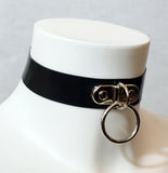 Latex D-Ring collar with small O-Ring