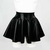 Latex Flippy Skater Shorts
