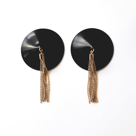 GOLD Edition Latex Tassel Pasties