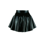 Hi-lo Micro Mini Skater Skirt